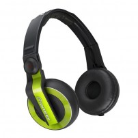 pioneer-hdj-500-green-casque-audio-stereo